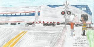 amtrak train drawing. Exellent Amtrak Lincoln And Clyde Wait For Amtrak Trainpng Throughout Train Drawing