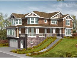Medway Tudor Home Plan D    House Plans and MoreStunning Tudor Home Perfect For A Sloping Lot