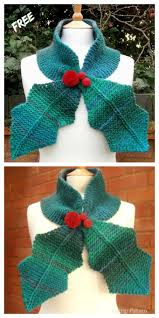 This knit leaf pattern is a repeat pattern that consists of 24 rows. Knit Leaf Neck Scarf Free Knitting Patterns Knitting Pattern