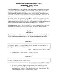 document based question essay imperialism document based question essay