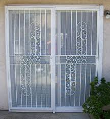 collection security gates sliding doors woonv sliding patio door security gate