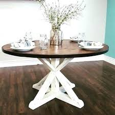 52 round dining table round pedestal dining table round rustic dining table stunning handmade rustic round