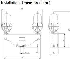 Led Tower Obstruction Lights Cell Tower Obstruction Light
