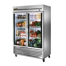 modern lass door refrigerator for home