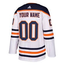 They're simple, versatile and they work for virtually any. Custom Men S Edmonton Oilers Adidas Authentic Away Jersey With On Ice Cresting Sports Closet