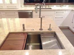 kitchen sinks with cutting board photo 3 of 7 kitchen sink cutting board 3 inch gauge
