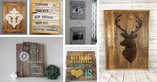 diy pallet wall decor and art ideas