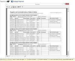 Formato De Asistencia Del Personal Reloj Huella Digital Control De Asistencia Biometrico Mintra