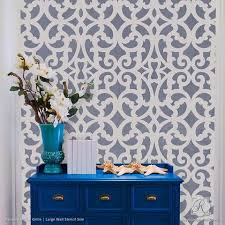 Small Picture Wall Stencils for Painting Trendy Classic Stencils for DIY