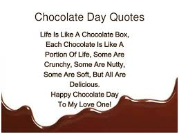 Chocolate Love Quotes Cool Valentine S Day Chocolates Happy Chocolate Day Images Chocolate Love