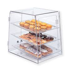 self serve pastry counter case countertop acrylic bakery display cases achieve display