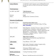 Short Simple Resume Examples How To Write Brief Resume Skillsmary Examples Of Resumes Good A 27