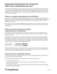 sat and sat subject tests score verification request form sat