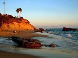 California Laguna Beavh Background ...