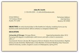 Resume Objective Statement Example Graduate School Objective Statement Examples Perfect Resume Format 23