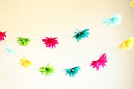 Paper Flower Garlands Paper Garland Tutorials The Sweetest Occasion