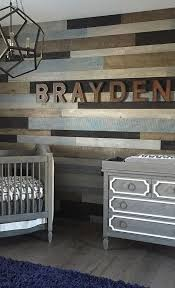 colorful reclaimed wood wall for a boy's space