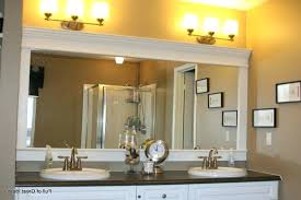 unique powder room mirrors framed bathroom ideas unframed oval floating mirror cool u68