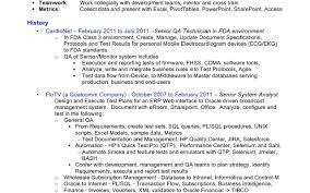 Qa Resume 9 Qa Resume Objective Objective Uxhandy Com