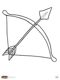 Small Picture Bow And Arrow Coloring Pages Lag Baomer Bow And Arrow Throughout