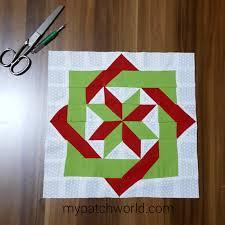 Patchwork Block Designs Labyrinth Quilt Block Pattern Tutorial