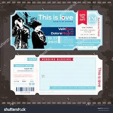 Concert Ticket Invitation Template Wedding Invitations Concert Tickets Beautiful Wedding Invitations 23