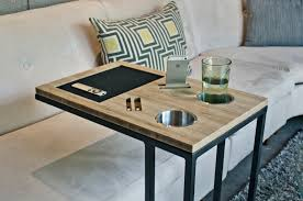 Couch Tray Table Slide Under Sofa Table Best Home Furniture Decoration