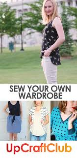 Design And Sew Your Own Clothes Make Your Own Clothes With Pdf Sewing Patterns From