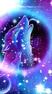 Wallpaper Galaxy Cool Wolf