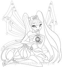 Winx Club Coloring Pages 16 Colors Of Pictures