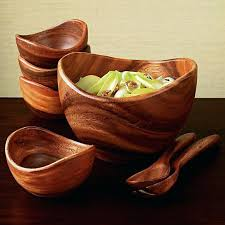 wooden mixing bowls best wooden salad bowls ideas on used reuse 7 organic acacia hardwood wooden mixing bowls