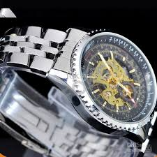 automatic hollow men watch men s mechanical watches stainless 100% same as photos colors might vary slightly due to individual`s computer monitor output
