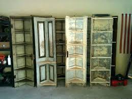 old door shelf corner shelves bifold vine available at antique show photo with extraordinary bookshelf old door corner shelf