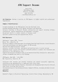 atm support resume sample samples abap fresher resume sample atm support resume sample samples