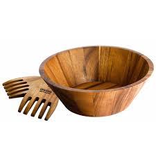 raymond blanc acacia wood salad bowl servers oos