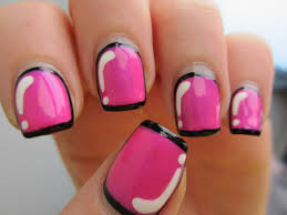 Pink Camo Nail Designs The Home Design : Fancy Camo Nail Designs ...