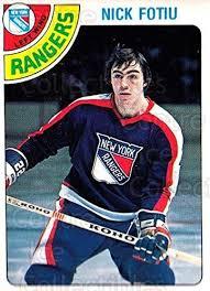 Amazon.com: (CI) Nick Fotiu Hockey Card 1978-79 O-Pee-Chee 367 Nick Fotiu:  Collectibles & Fine Art