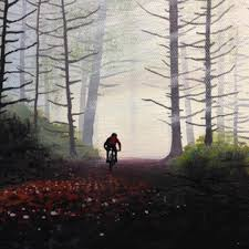 Afternoon Forest Ride - SOLD - Nicole Grimm-Hewitt