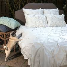 400 thread count off white pintuck duvet cover the valencia natural traditional bedroom off white ruffle