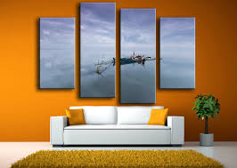 Orange Wall Paint Living Room Online Get Cheap Wall Decor For Living Room Ideas Aliexpresscom