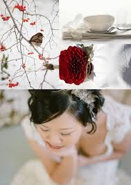 inspiration red white red white brown winter wedding inspiration board