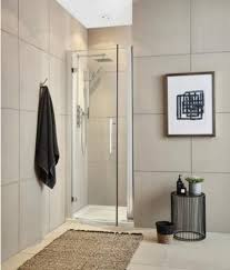 premier apex 800mm hinged shower door with 8mm toughend safety glass