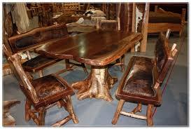 log furniture ideas. Handmade Wood Tables Rustics Log Furniture Ideas H