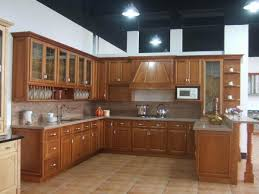 Modern Wooden Kitchen Designs Modern Kitchen Furniture And Refrigerator With Light Blue