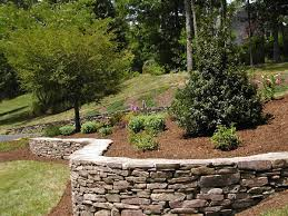 Small Picture natural stone retaining wall design Google Search Pool Ideas