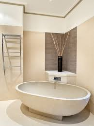 Bathroom:Admirable Spa Bathroom Decorating Idea With Small Drop In Bathtub  Also Vase Decor Stunning