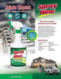 Spray Nine Heavy Duty Cleaner Degreaser 32oz Bottle