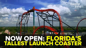 florida s tallest launch coaster tigris now open at busch gardens tampa bay
