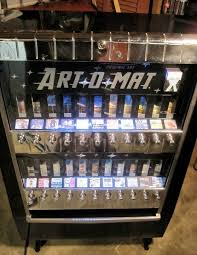 Cigarette Vending Machine Art Adorable Artomat Retired Cigarette Vending Machines Converted To Sell Art