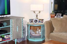 bed end table. Dog Bed End Table